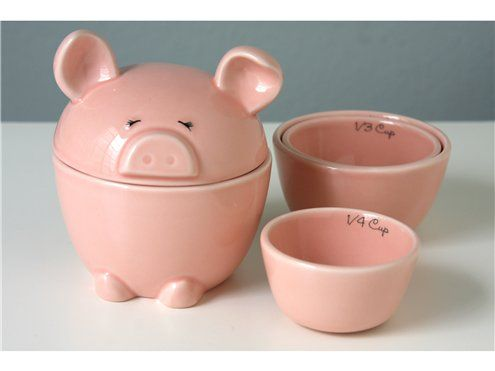 measuring cups! how cute!