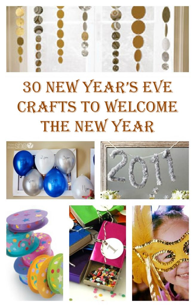 {30 Wonderful New Years Eves Crafts}