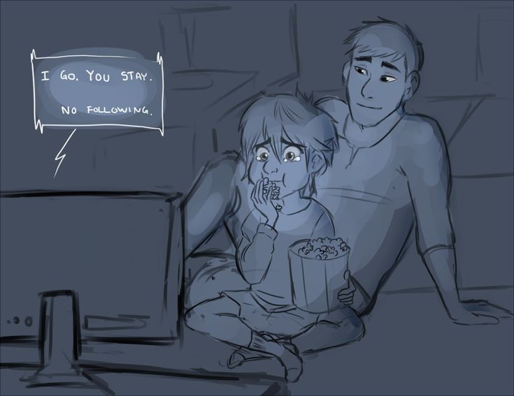Their favorite movie. (Hiro will deny crying if you ask) by drunkbat---- MY FAVORITE MOVIE, The Iron Giant REference, omg, oh no, oh, oh... *cries*