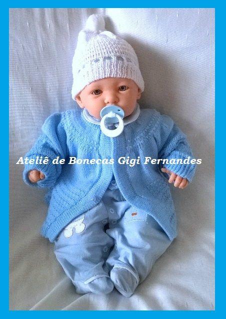 Boneco bebê, Cotiplás, by Ateliê de Bonecas Gigi Fernandes