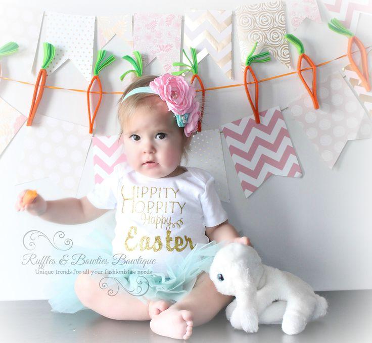 Hippity Hoppity Glitter Easter Shirt