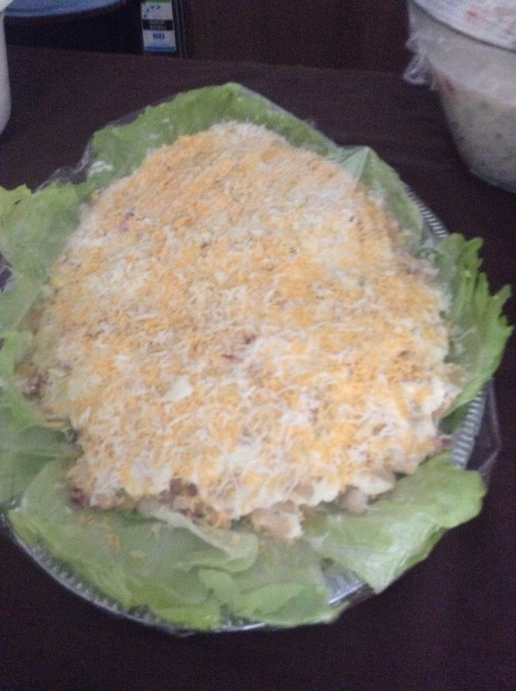 Cook Island Mayonnaise. A popular dish we love to have for special occasions.