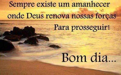 Eu sempre acredito em cada renovação e o amanhecer é a prova desta chance que recebemos dez Deus a cada amanhecer.