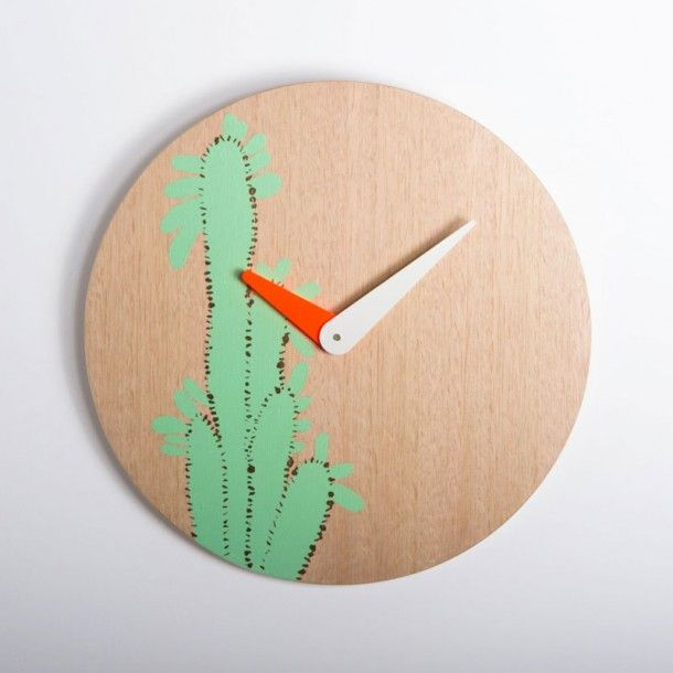 Designer/maker duo Lucy and Lily of Peaches + Keen have produced an exclusive range of clocks only available through online store Hunting for George.