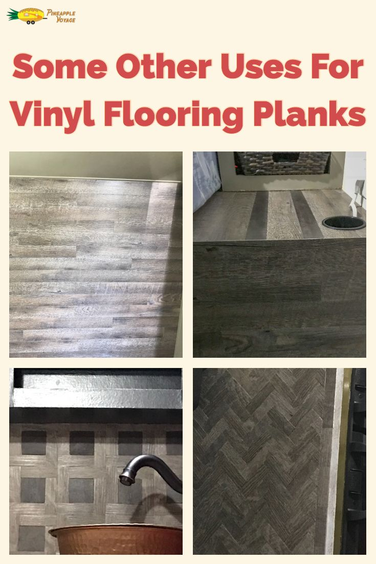 Some Of The Many Uses For Vinyl Flooring Planks Pineapple Voyage