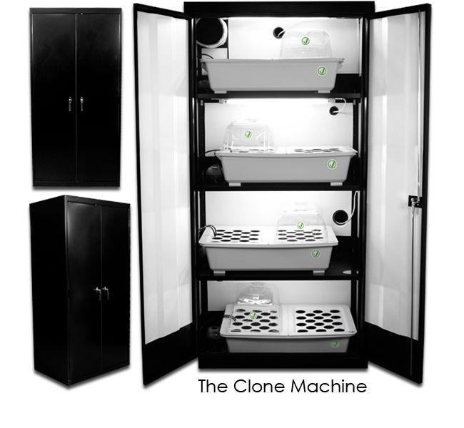 Supercloset Clone Machine 128 Plant Clone Propagation