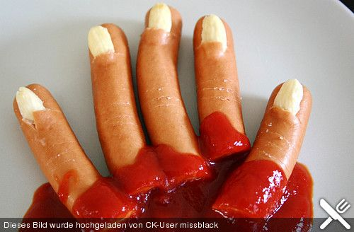 abgehackte Finger