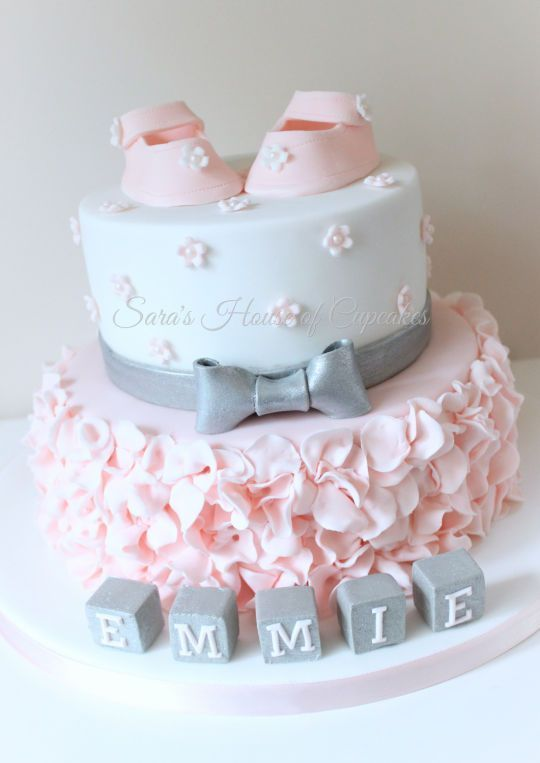 Photo of Love the colors on this baby shower cake