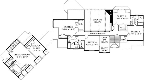 995 best new house lottery house ideas images on pinterest for House plans with separate guest house