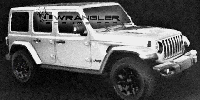 Considering there have been photos of different parts and pieces of the 2018 Jeep Wrangler JL that have been leaked over the past few months, from the hood to the possible grill, it was only a matter of time before a picture or rendering of the entire JL would make its way into the wonderful world of the inter-webs. The real deal. The mac daddy. The creme de la creme. One of the member of the JLWrangler Forums posted, and has been verified with their sources, to be the actual 2018 J...