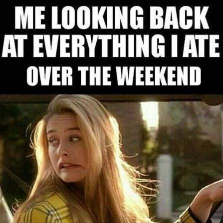 Or everything I ate over the holidays!