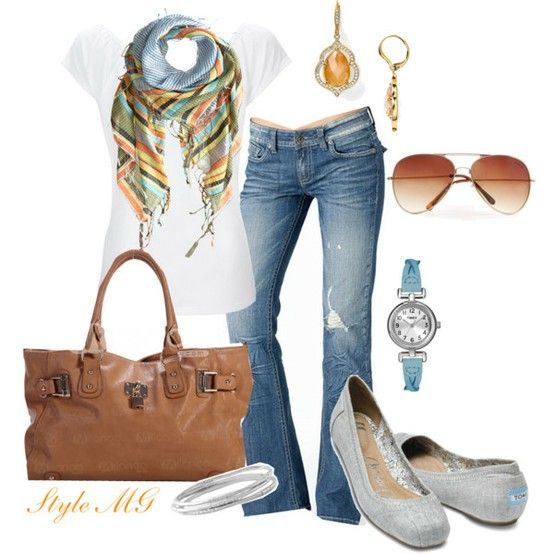 style: Casual Friday, Style, Cute Outfits, Splash Of Colors, Schools Outfits, Bright Jeans Outfits, Ballet Flats, Casual Outfits, Casual Looks
