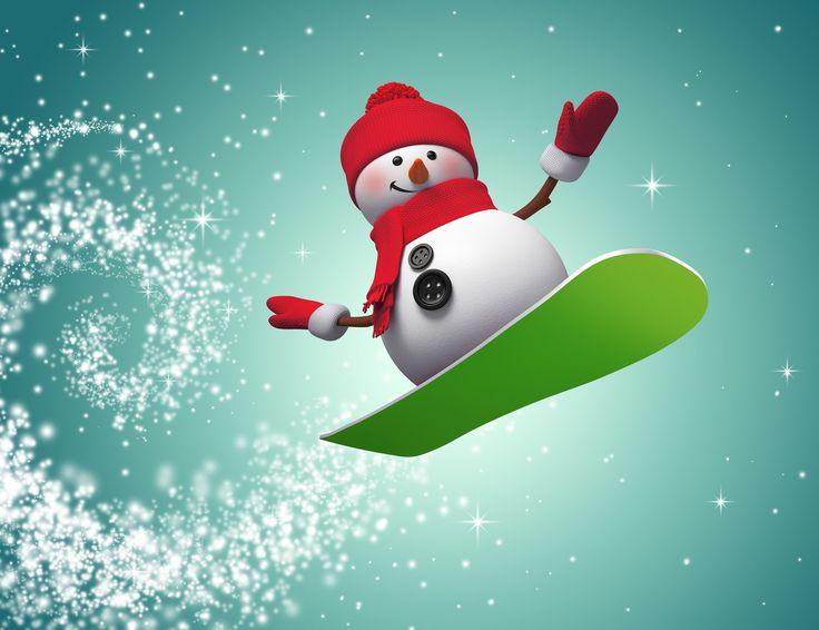 snowman wallpaper (Cade Sinclair 2560x1969)