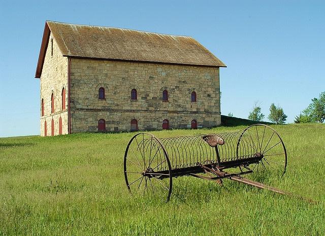 Filley Stone Barn near Filley Nebraska