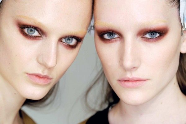 Beauty Trend: Red Makeup, @gucci. #beauty #red #makeup #gucci