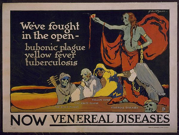 She May Look Clean—But: The Seductive Villains of Early STD-Prevention Posters - Slate Magazine