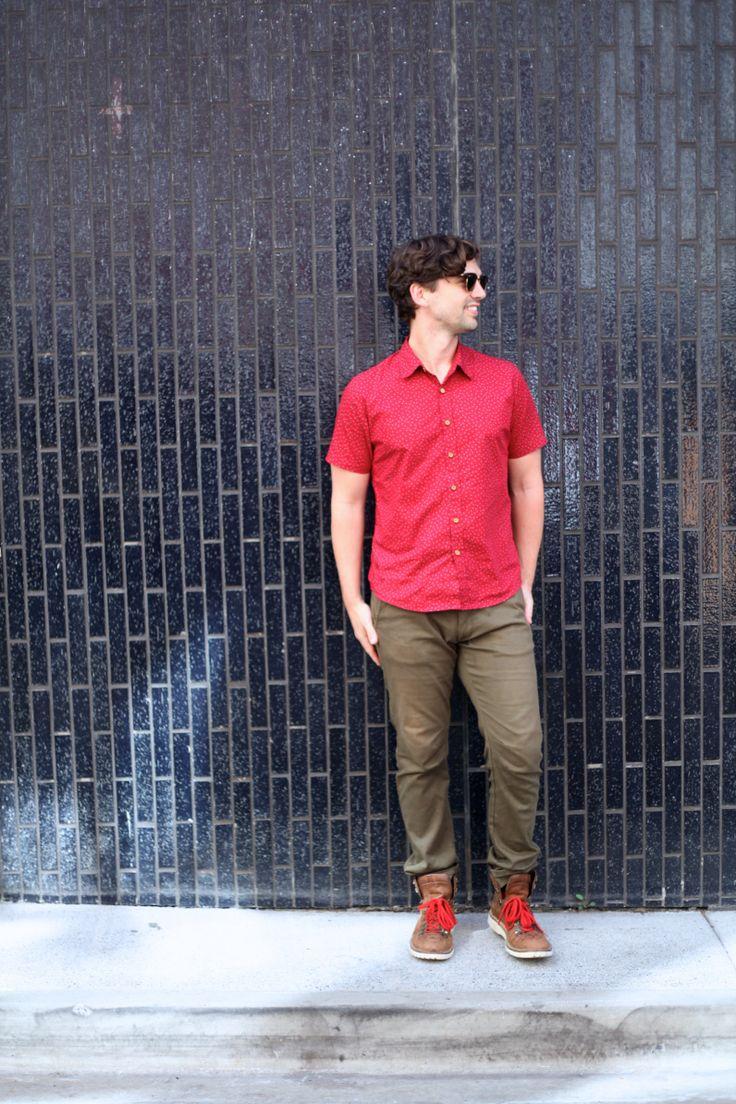 DomN8 Designs Shirt Politix Pants Windsor Boots RayBans