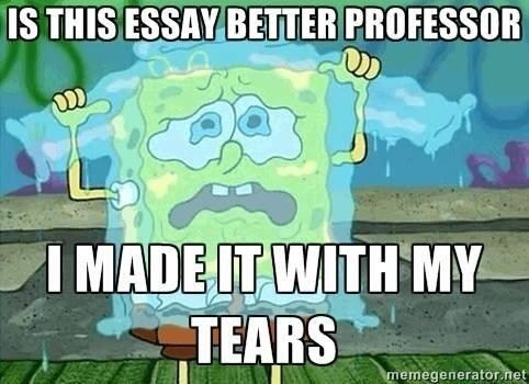 How I feel taking finals today