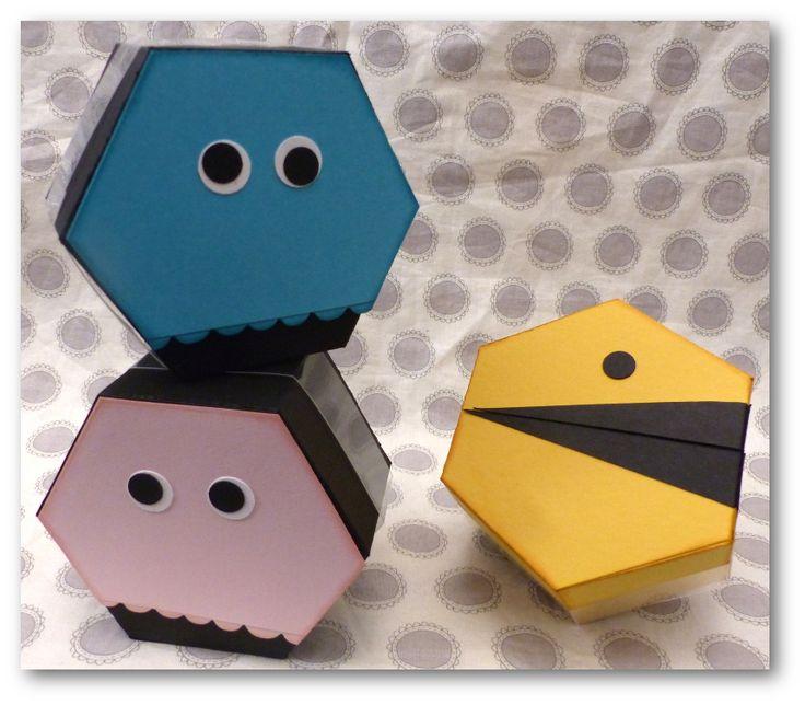"""Coul'Heure Papier: """"Boîte Hexagonale"""" et un peu plus ! Partie 2 [Tutoriel]"""