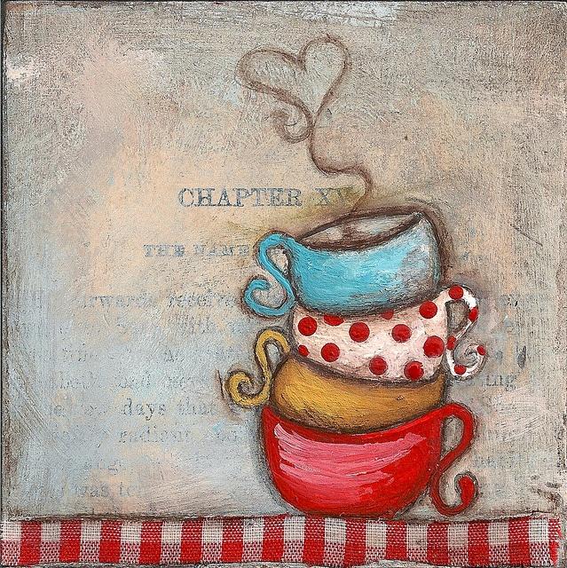 teacup stack  ©dianeduda/dudadaze