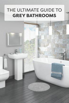 83 best Grey Bathrooms images on Pinterest | Modern bathroom, Bathroom and  Bathroom ideas