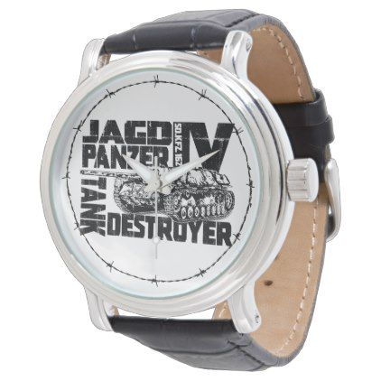 Jagdpanzer IV eWatch Watch - accessories accessory gift idea stylish unique custom