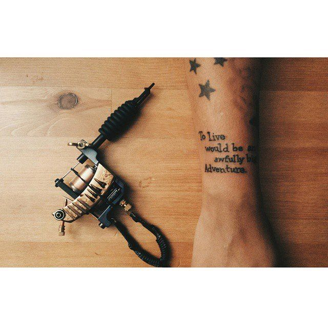 1000 ideas about adventure tattoo on pinterest tattoos for To die would be an awfully big adventure tattoo