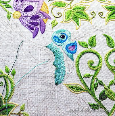 17 Best images about crewel embroidery on Pinterest Hand