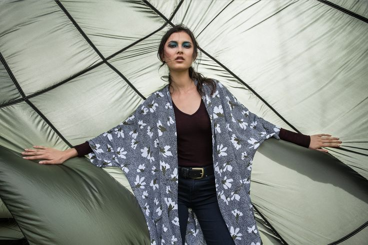 Ease into the winter months, with the utilitarian army feel of our Park Life collection.   Floral hand painted prints, designed in house, are juxtaposed against military detailed shackets and overalls. The baggy boyfriend jean remains a staple, paired back with mono check shirts and printed kimonos.   Cosy up in oversized soft mohair knitwear, midi lengths, and drill and tencel fabrications.