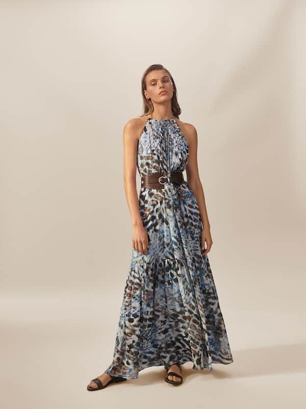 Vestido estampado tie dye limited edition   Massimo Dutti