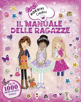 Uscite della settimana - IdeeAli - Il manuale delle ragazze, adesivi creativi  http://www.ilcastelloeditore.it/catalogo.php?src=&page=1&id=8860235715  Autore: A.A.V.V. EAN: 9788860235718 Editore: IDEEALI Collana: CREATIVITA' BAMBINI Pagine: 64  Con più di 1000 adesivi attacca-stacca.Troverai divertenti attività che ti aiuteranno a sviluppare le tue abilità e la coordinazione tra mani e occhi. Dai 3 anni  € 7,50