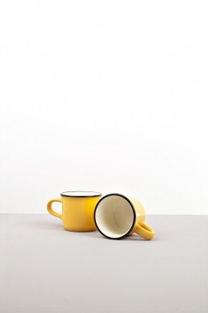 Yellow small mug