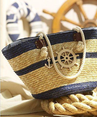 Beach bag.  Going Coastal
