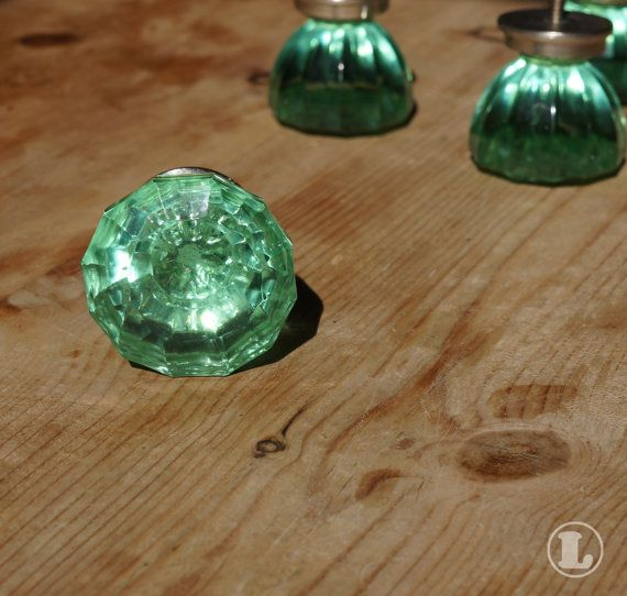 colored glass door knobs. stunning green glass door knobs set of 4 by lucyelizabethuk, £8.00 colored q