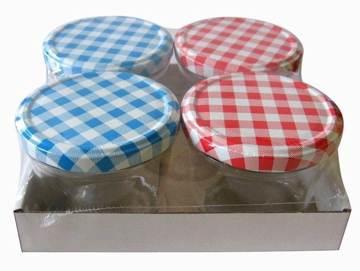 Inmaakpot 230 ml 4 stuks € 6,95 Deze inmaakpot is handig bij het inmaken van fruit en groenten tot jams, compotes, chutneys en meer. De inmaakpot heeft een ruime opening voor eenvoudig vullen. En dankzij het draaideksel en is de pot eenvoudig te openen en te sluiten. De inhoud van de pot is 230 ml. De set bevat 4 potten. Merk Kitchen Basics Hoogte 6.5 cm Breedte 8 cm Diepte 8 cm Verpakking krimp Materiaal Glas + Metaal