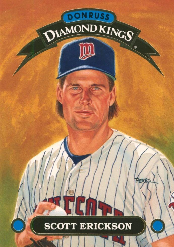Pin By Joey Buchholz On Donruss Diamond Kings Baseball Trading Cards American League League