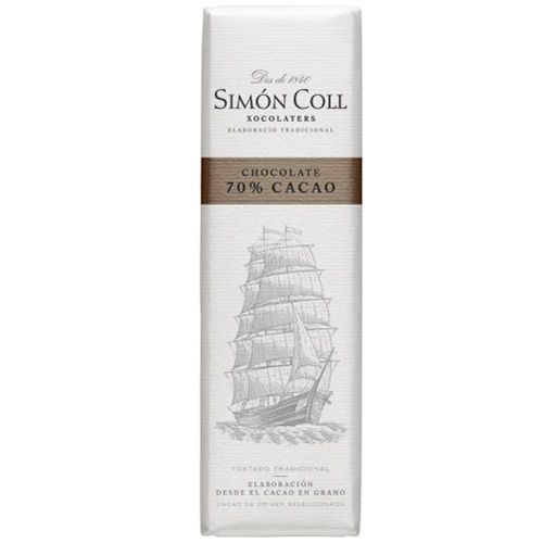 Simon Coll 18g. Ciocolata Neagra 70% cacao FARA GLUTEN