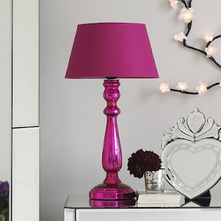 89 best pink lampschandeliers images on pinterest chandeliers pink lamp i would use a grey lamp shade not pink mozeypictures Gallery