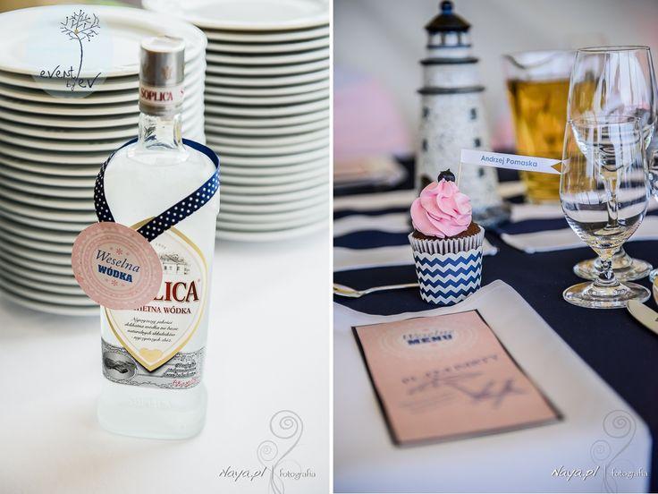 nautical decorations wedding, marynarskie dekoracje wesele