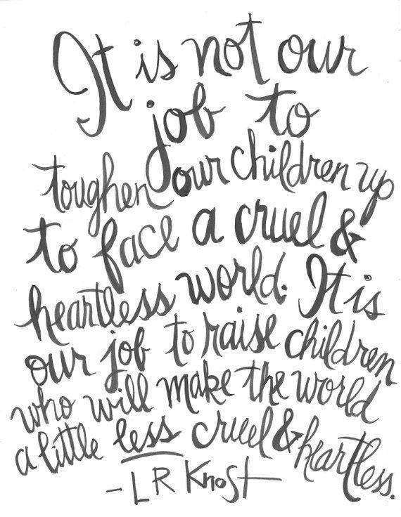 Raise Kind Children