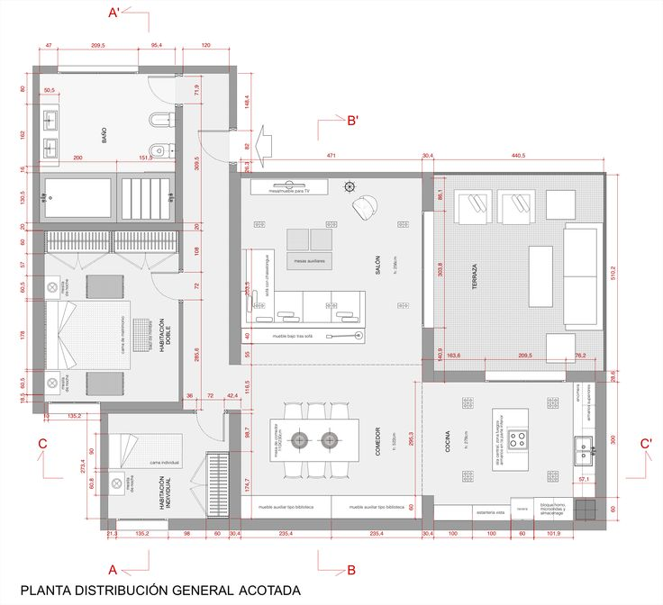 Best 25 plano de una vivienda ideas on pinterest planos for Planos de casas de una planta