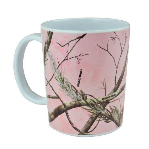 Realtree pink camo12 oz Pink Mug $2.99  #Realtreecamo