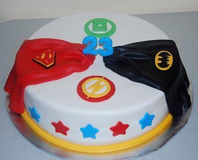 Leelees Cake-abilities: Justice League Cake