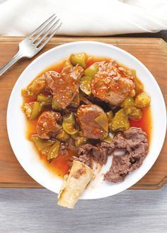 Receta para preparar un delicioso chambarete entomatado fácil de preparar ¡Tienes que probarlo!  Recetas cocinavital.mx