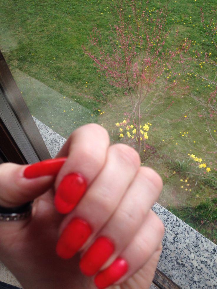 #Frühling auf den Nägeln & draußen ;D