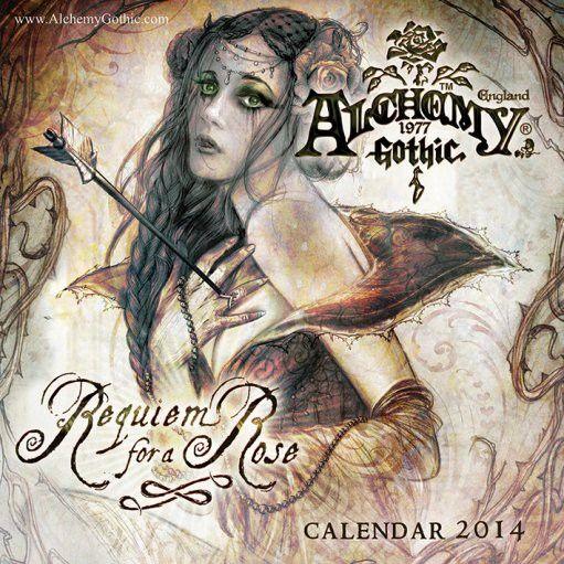 Alchemy gothic - Calendrier gothique 2014