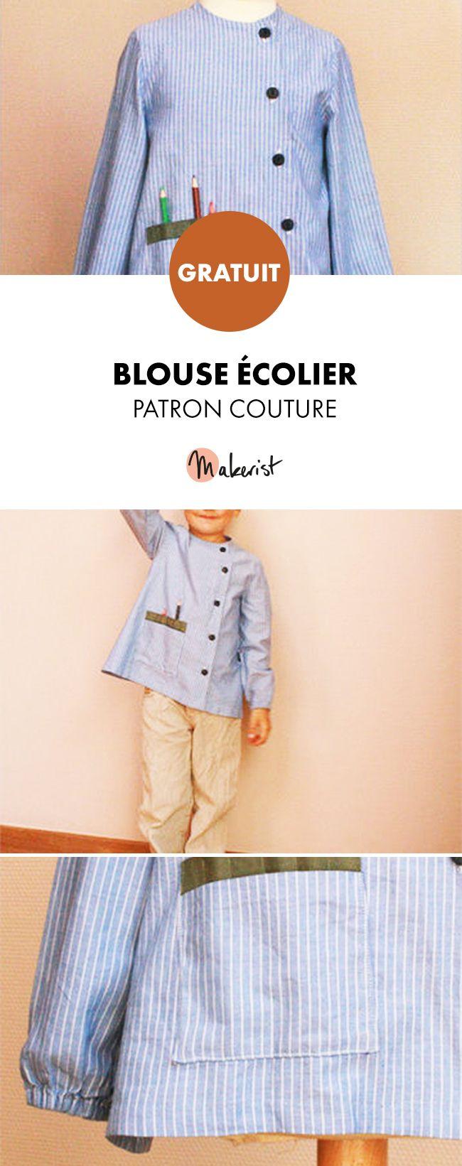 Patron couture gratuit à imprimer sur Makerist.fr