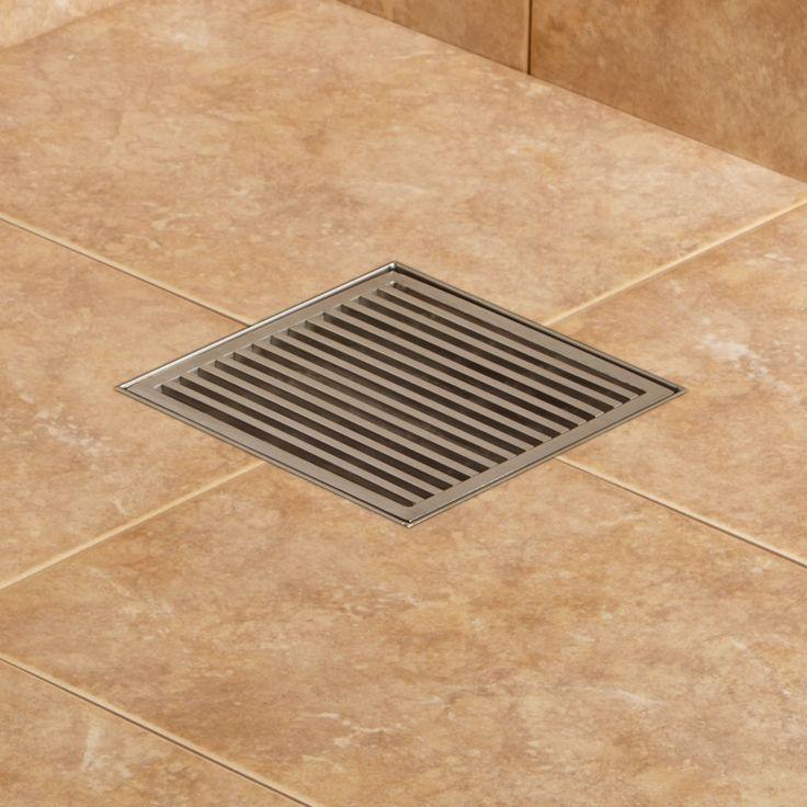 Carmen Square Shower Drain