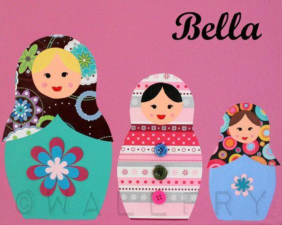 Matryoshka Dolls  Babushka, Russian Dolls