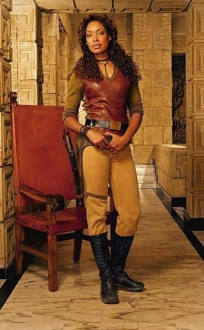 """With its """"space western"""" vibe, the Firefly series has a lot of Steampunk elements.  I love Zoe's costume and have decided that it would provide a good foundation for a Steampunk Pirate costume."""